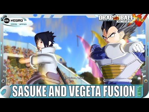 Fusion Vegeta and Sasuke Vs Fusion Goku and Naruto - Dragon Ball VS Naruto Shippuden - XV mod
