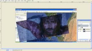 Jesus' Face Google Earth