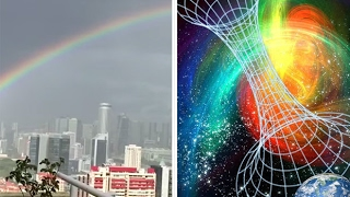 Portal To Another World Captured On Video In Singapore