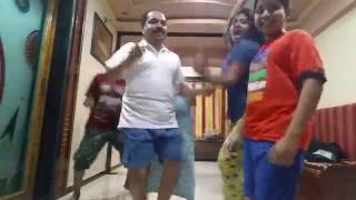 Entire family dandance on shanta bai