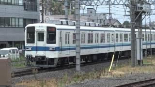 【4K】朝の春日部駅 東武伊勢崎線(スカイツリーライン)・野田線 2015.8