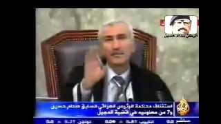 رجل الموقف والمبدئ صدام حسين