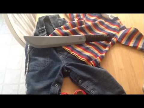 How To Make A Chucky Halloween Costume For a Toddler