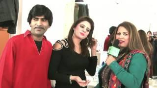 Pakistani Punjabi Stage Drama Actor Sajjan Abbas & Afreen's Interview