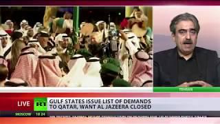 Qatar blockade: Arab states give Doha 10 days to cut ties with Iran & close Turkish base