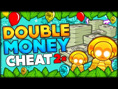 UNLOCKING THE BEST CHEAT EVER IN BLOONS TD 5 THE DOUBLE CASH SPECIAL Bloons Tower Defense 5