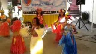 Kindergarten Hawaiian Dance Presentation