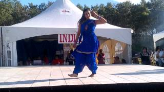 Preet Johal Edmonton Heritage Festival 2012