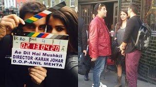 Making of Ae Dil Hai Mushkil - Behind the Scenes Action - Aishwarya Rai, Ranbir Kapoor & Anushka