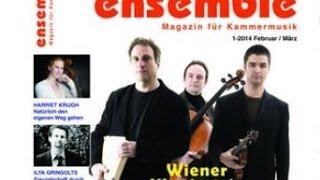 Musik Magazin ensemle Kammermusik 1/14 - Wiener Klaviertrio - Harriet Krijgh