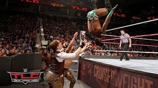 Cedric Alexander & Rich Swann wow the crowd with their acrobatic offense: WWE TLC 2017