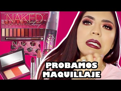 Xxx Mp4 PROBANDO MAQUILLAJE NAKED CHERRY COLLECTION URBAN DECAY TUTORIAL Y SWATCHES • BEAUTYBYNENA 3gp Sex