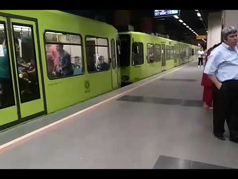 Bursa Metrosu (Bursaray) Acemler (2 Üniversite) 13 Ağustos 2017