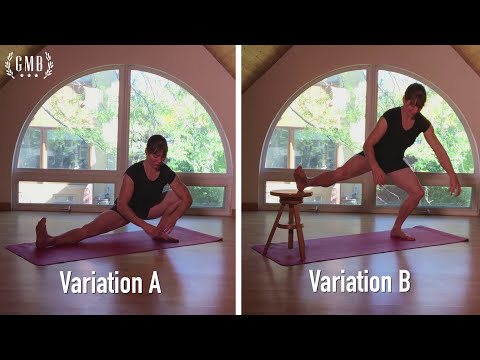 Four Stretches For Side Splits