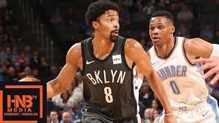 Oklahoma City Thunder vs Brooklyn Nets Full Game Highlights / Jan 23 / 2017-18 NBA Season