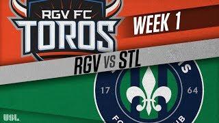 Rio Grande Valley FC vs Saint Louis FC: March 16, 2018