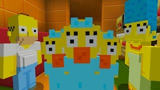 MARGES NEW BABY | THE SIMPSONS MINECRAFT | THE SIMPSONS MINECRAFT XBOX ROLEPLAY [7]