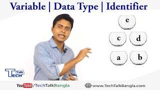 TT:  Basic Programming in Bangla || Variable || Data Type || Identifier