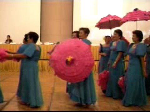 Filipiniana dance by Soroptimist International of Sta. Maria
