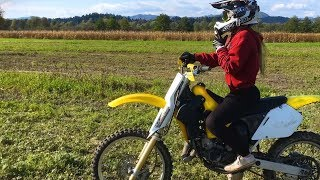 Motocross Girl - Hot Girlfriend On Dirt Bike!