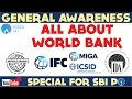 Download Video Download GENERAL AWARENESS - All About World Bank - IBRD, IDA, IFC,  - Online Coaching for SBI IBPS Bank PO 3GP MP4 FLV