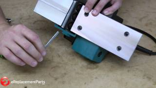 How to Change the Blades on a Hand-Held Planer