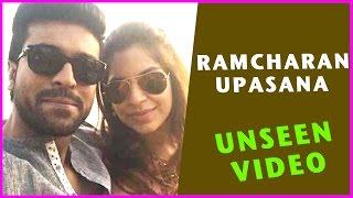 Ramcharan & Upasana Rare & Unseen Video || Latest Updates 2016