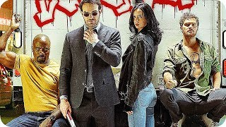 Marvels THE DEFENDERS Season 1 FEATURETTE (2017) Marvel Netflix Series