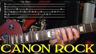 CANON ROCK - Guitar Lesson  ♫ ♪ ♫ ♪