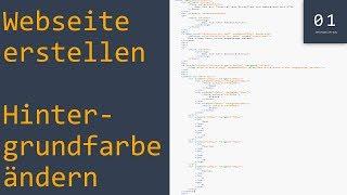 Webseite erstellen mit HTML #2 | Tutorial