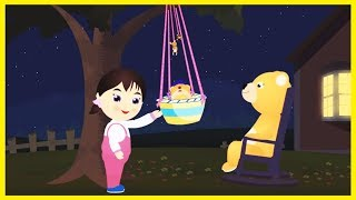 Rock A Bye Baby | Nursery rhyme for children with lyrics