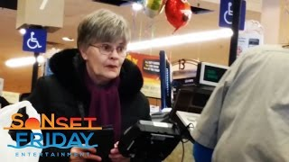 Paying For Peoples Groceries (TEAR  JERKER)