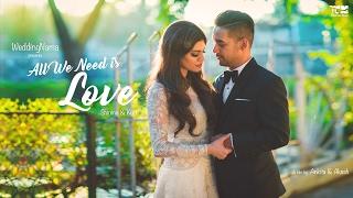 All We Need is Love | Church Wedding, Bandra | WeddingNama