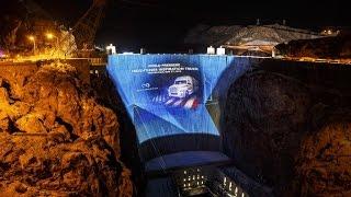 Freightliner Inspiration - Presentation Hoover Dam Las Vegas  - BKF TV Reportage (English - Deutsch)