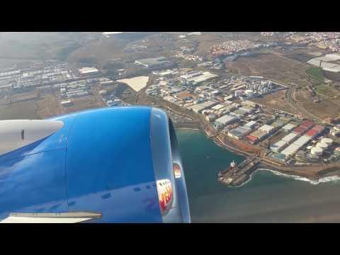 Las Palmas Airport Gran Canaria Take Off November 2016.