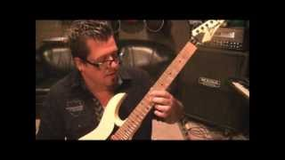 How to play Bed Of Razors by Children Of Bodom on guitar by Mike Gross