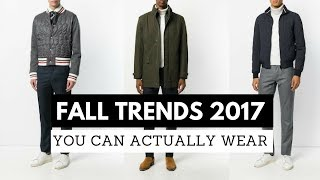 FALL Fashion Trends 2017 | Outfit Ideas for Men | Trendy Outfits You can Actually Wear