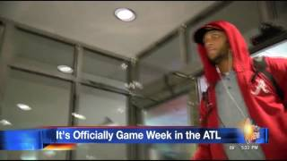 Bama Arrives in ATL for Peach Bowl