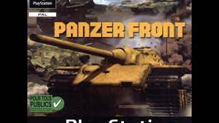 Quick Look | Panzer Front (1999) PlayStation 1 HD