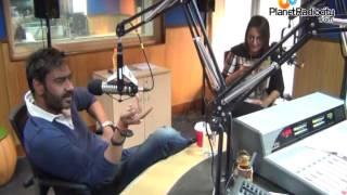 Oops! What did Ajay Devgan & Sonakshi Sinha just say! | RadioCity 91.1 FM