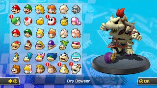 Mario Kart 8 All Characters