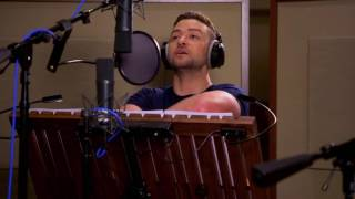 Trolls Justin Timberlake  Anna Kendrick Behind The Scenes Voice Recording
