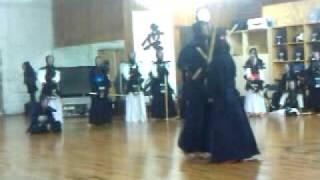 Kendo Academy Sung Moo Party Dec.2009 at Dumont School
