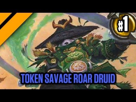Day9 HearthStone Decktacular 316 - Token Savage Roar Druid