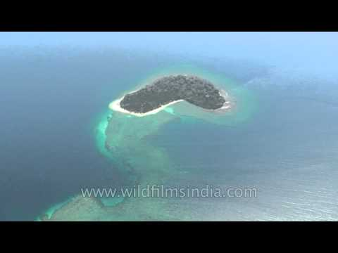 Baby island in the Bay of Bengal: Andaman & Nicobar islands