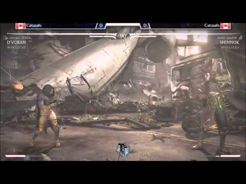MKX Casuals: GunShow (Shinnok - Bone Shaper) vs HoneyBee (D'Vorah - Swarm Queen)