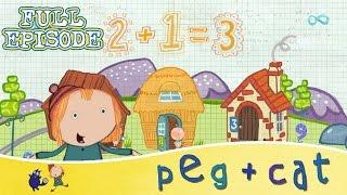 Peg + Cat - Full Episode Compilation (HD)