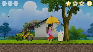 Meena Cartoon New Epidose - Dealing with Diarrhoea (HD) - Meena Game level 7   Meena Games - Unicef