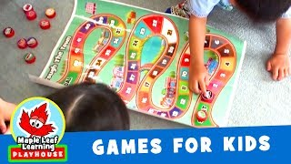 Around the Town Game for Kids | Maple Leaf Learning Playhouse