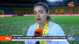 Melissa Herrera: No esperábamos llenar, ni los hombres lo habían hecho